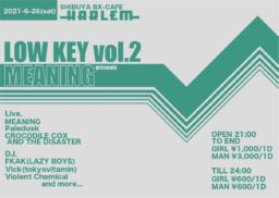 MEANING presents LOW KEY vol.2